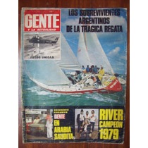 Gente 735 23/8/79 River Campeon 79 Admiral`s Cup Samore