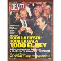 Gente 1030 18/4/85 Alfonsin Reyes De España G Tello Rosas