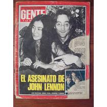 Gente 803 11/12/80 John Lennon Asesinato E Peicovich