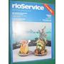 Revista Rioservice Mar/85 Rio De Janeiro Brasil Turismo