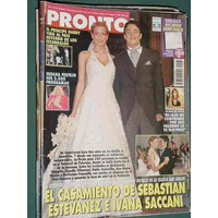 Revista Pronto 433 Jacqueline Dutra Luisana Lopilato Saccani