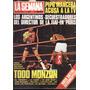 Revista La Semana 3 Agosto 1977 - Monzon Derrota A Valdes