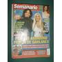 Revista Semanario 1365 Sandro Madonna Susana Gimenez Suller