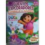 Dora La Exploradora -cuentos Exploradores -8 Vol.+cd+pizarra