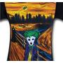 Remera Batman Joker The Scream Guason Importada Dc Comics