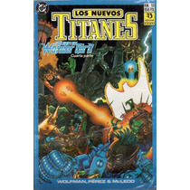 Los Nuevos Titanes # 13 Dc Comics. Ed Zinco 1989 Z. Devoto