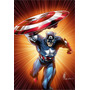 Poster Capitan America Super A3 Marvel Ca 13