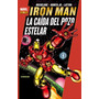 Marvel Gold Iron Man La Caida Del Pozo Estelar Marvel Panini