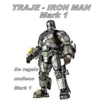 Traje Iron Man Mark 1 (para Armar En Papercraft)