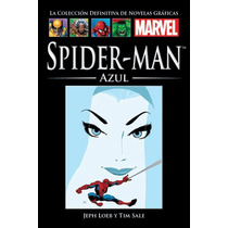 Coleccion Marvel Salvat - Spiderman Blue