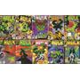 Marvel Hulk Lote De 10 Comics En Inglés De Colección Usa.