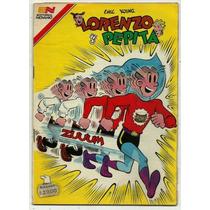 Lorenzo Y Pepita N° 608 Historieta Antigua Revista Novaro