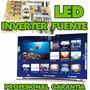 Inverter Fuente Led Samsung 40 46 50 55 56 Lg Laptop Baires