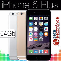 Apple Iphone 6 Plus 64gb Retina Hd 5.5 64 4g Ios8 A8