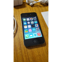 Apple Iphone 4 16gb Negro Impecable Liberado Sin Icloud