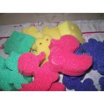 Esponjas Infantiles, Medidas Aprox 8,50 X9 Cm