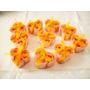 10 Cajitas Corazon Acet.3 Rosas Salmon Petalos Jabon Perf.