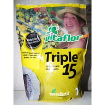 Triple 15 -1 Kilo -jardinurbano - Fertilizante Inorganico -