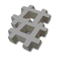 Bloques Para Cesped De Cemento Reforzado 33*33*6 Por Unidad
