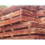 Postes Cuadrados De Quebracho Colorado 10x10x2,40 Mts