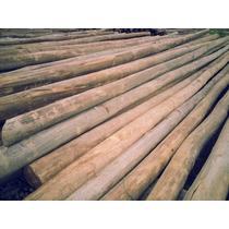 Postes De Eucalipto Impregnado 12 14 Cm X 5 Metros