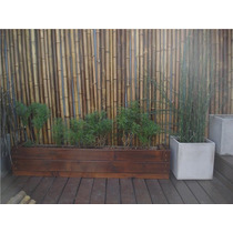 Colocacion De Cercos Pergolas De Cañas De Bambú X M2