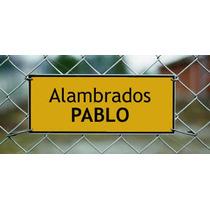 Poste Alambrado Quebracho Blanco 3x3x2,20mts Alto