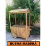 Carrito De Golosinas/pochoclero // Buena Madera