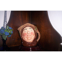 Antigua Y Excelente Jarra Royal Doulton Friar Tuck Large