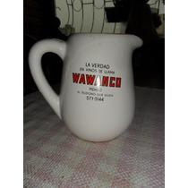 Jarra Con Publicidad De Vinos Wawanco