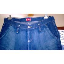 By Deep Jeans Pantalón Talle 30-tiro Corto-medidas Abajo