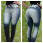 Jeans Dama Chupin Elastizado Diway