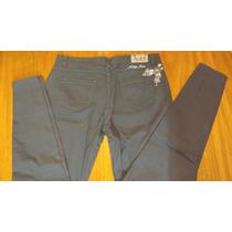 Pantalon De Vestir Gris Oscuro T 46 Tiro Medio -congreso
