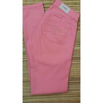 Jeans Mujer Chupin Colores De Verano Wanama