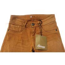 Pantalón Jeans Octanos Nuevo T:34 Color Mostaza (camel)