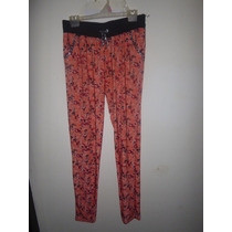 Pantalon De Seda Fria Nuevo Talle 3