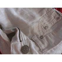 Ossira Pantalon Blanco En Lino Excelente Estadotal Cual Se V