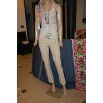 47 Street Pantalon De Jean Color Crudo Promo