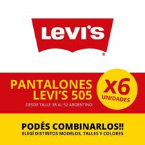 Jean Levis (levi`s) 505 - Solo Por Media Docena