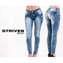 Jeans Mujer Elastizados Tendencia Jeans
