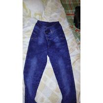 Jeans Mujer Elastizados Tiro Alto/medio Por Mayor