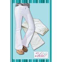 Jeans Rapsodia Oxford Blanco!! Últimos Disponibles!!!