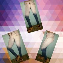 Jeans Elastizados Tiro Alto Y Medio Talles 34 Al 46 Elastiz