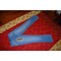 Tucci Pantalon De Jean Recto Elastizado Promo