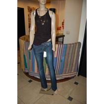 Jazmin Chebar Pantalon De Jean Boot Cut