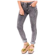 Jeans Mujer Nevado Negro Chupin Excelentes!!!! T: 36 Al 46