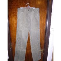 Pantalon De Corderoy Gama Verde Nuevo