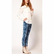 Jean Pantalon Moda Recto Batik Importado Uk Tipo Complot