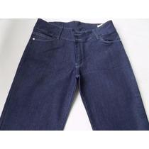 Jeans Recto Elastizado Tiro Medio Marca Nahana Talle 42