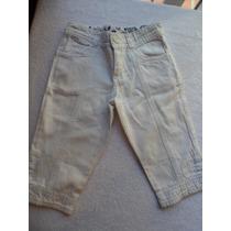 Pantalon Capri Blanco Mimo Talle 4